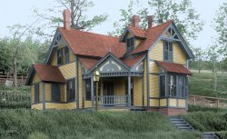 This Old New House (Colorized): 1900
