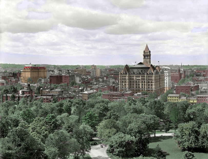 Washington, D.C. (Colorized): 1904