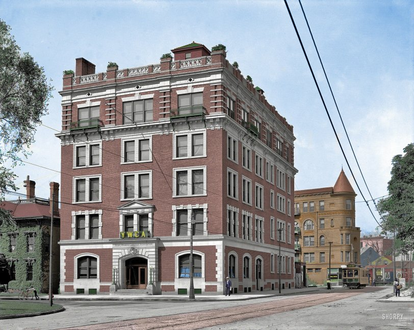 YWCA (Colorized): 1906