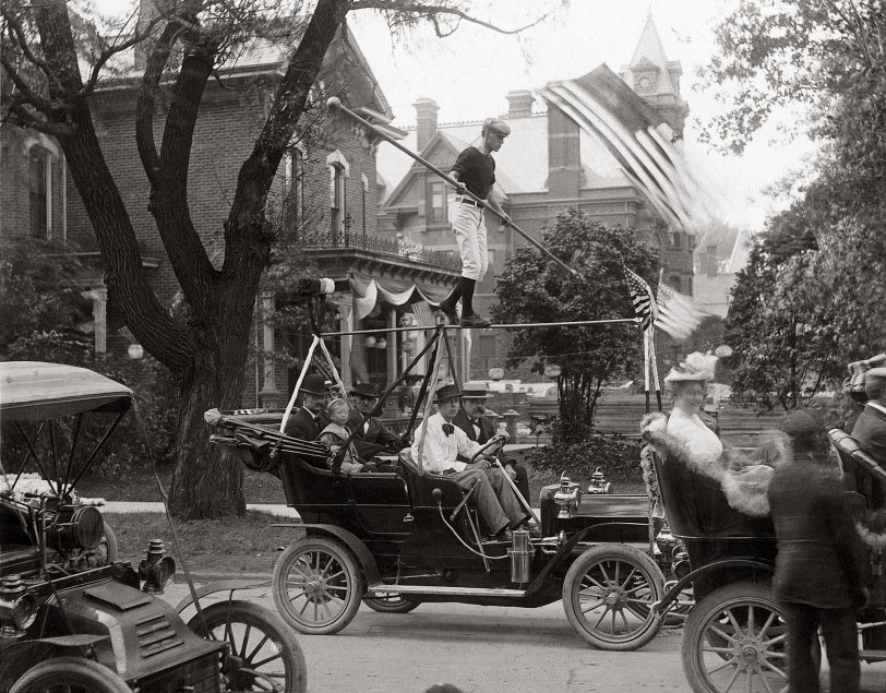 Parade in Port Huron: 1906