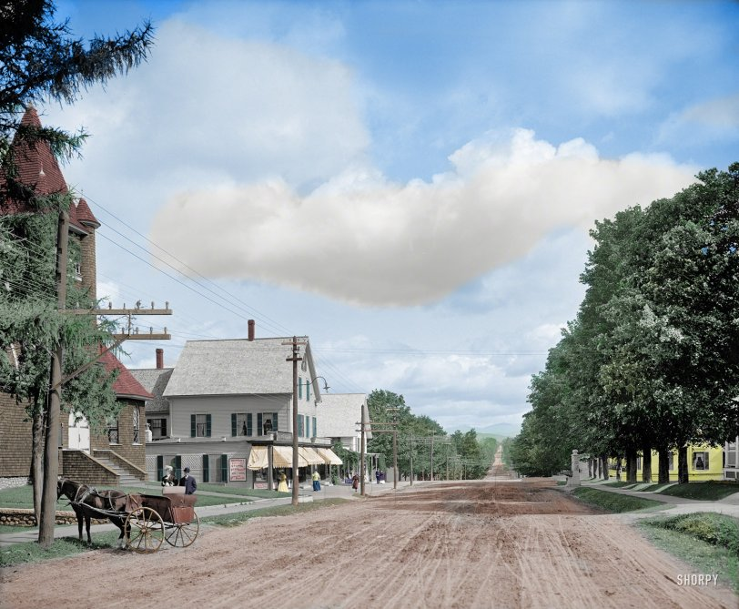 O Little Town: (Colorized) 1907