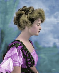 Billie Burke (Colorized): 1908