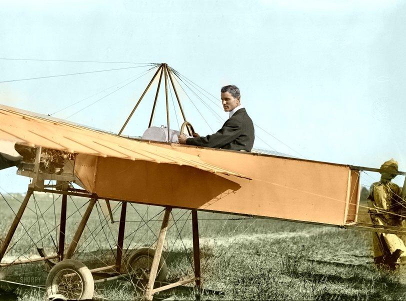 Aeronaut (Colorized): 1910