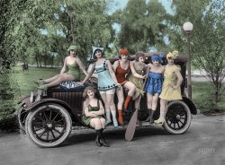 Queens of Comedy (Colorized): 1919