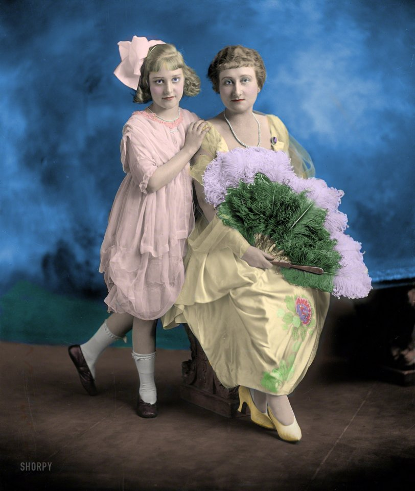 Fan Club (Colorized): 1920