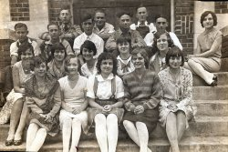 Verdon Nebraska Class Picture