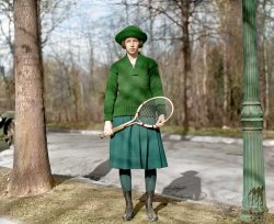 Marion Leech (Colorized): 1921