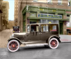 Scripps-Booth (Colorized): 1921