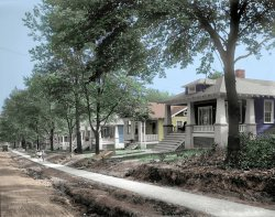 Elm Avenue (Colorized): 1911