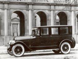 Lincoln Seven-Passenger Limousine: 1922