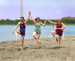 Pixelated Swimmers: 1922