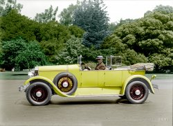 Sport Touring (Colorized): 1928