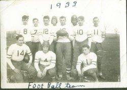 1933 High School Football