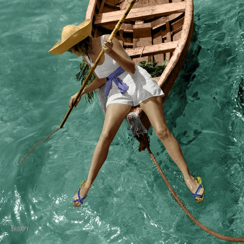 See Legs (Colorized): 1938