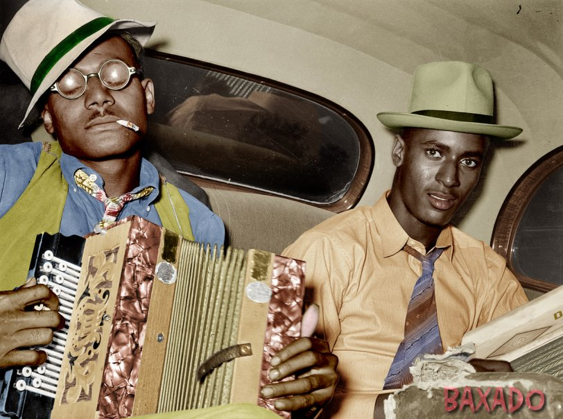 Backseat Duet (Colorized): 1938 (Colorized)