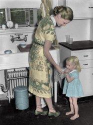 Nouvelle Cuisine (Colorized): 1938