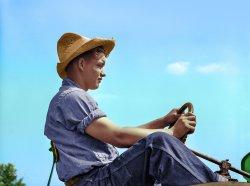 Future Farmer (Colorized): 1939