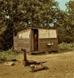 Tiny House (Colorized): 1939
