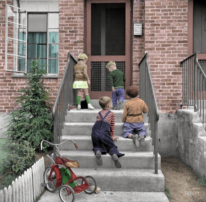 Tykes n Trikes (Colorized): 1941