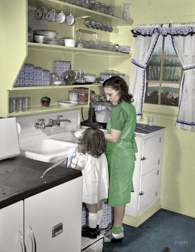 Mother's Little Helper (Colorized): 1942