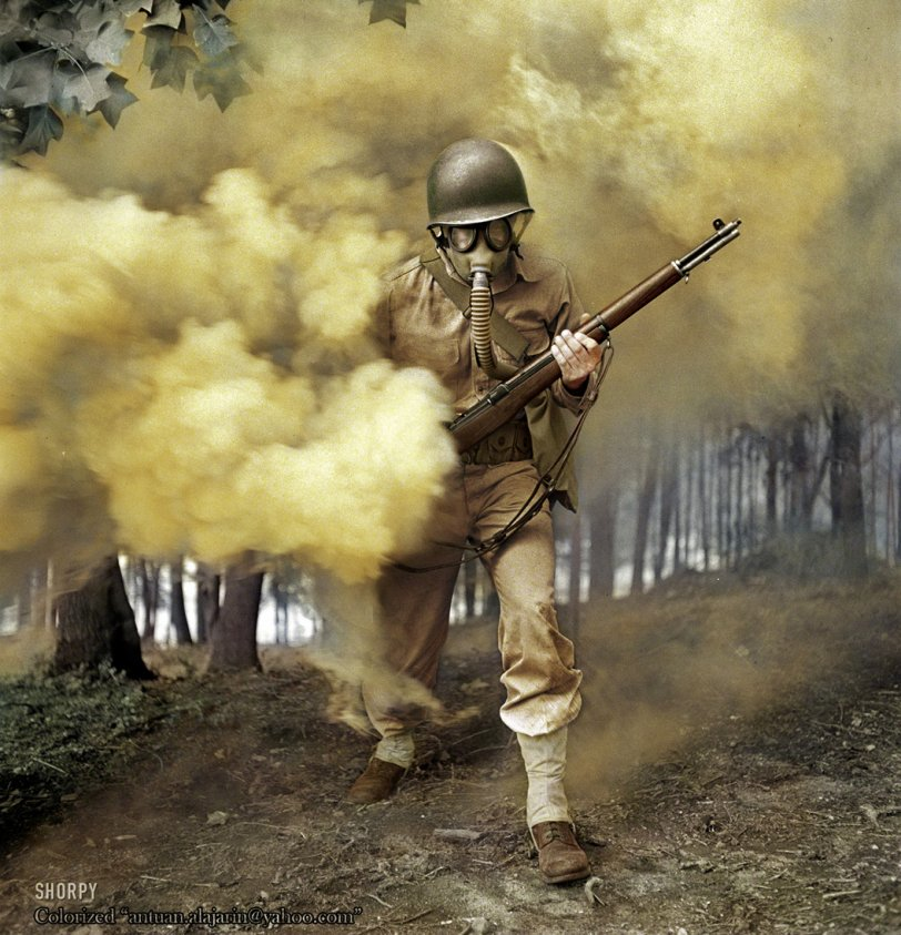 Smokescream (Colorized): 1942
