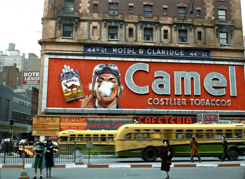 Les chameaux: 1943