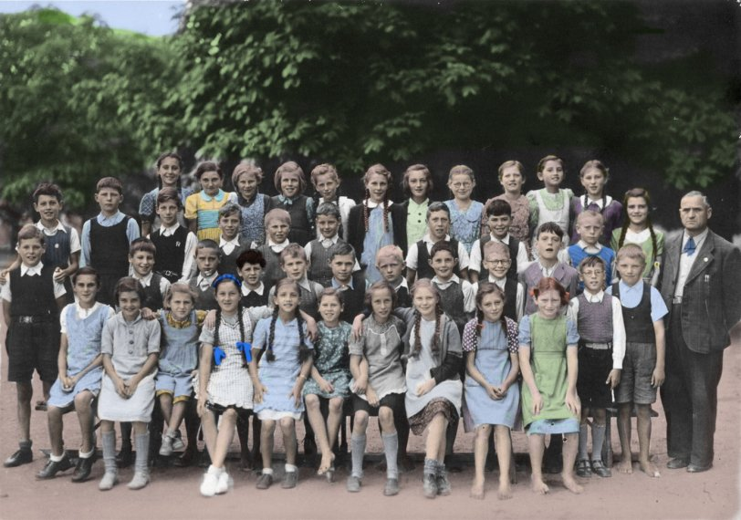 Wettingen Fifth Grade: 1944