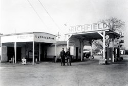 Richfield Gas Station: c. 1950s