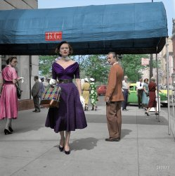 Model Behavior: 1952 (colorizied)