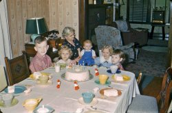 Birthday Party with Grandma, 1953