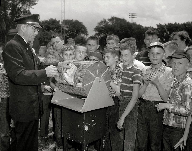 Bike Raffle: 1954