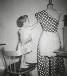 Curious About the Dress Form: 1957