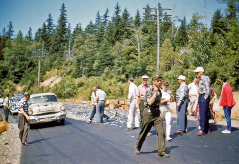Incident at Baxter State Park: 1958