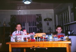 Christmas Garages: 1960