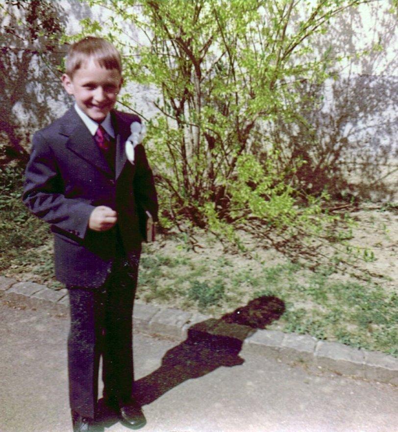 My First Communion: 1970