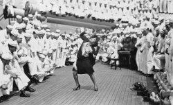 US Navy Dancer