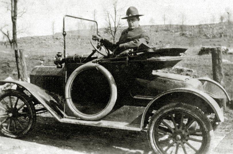 William Campbell's Car: 1919