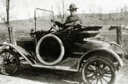 William Campbell's Car: 1919