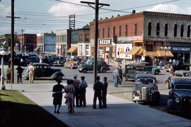 Lincoln Nebraska 1942 Shorpy Old Photos Vintage