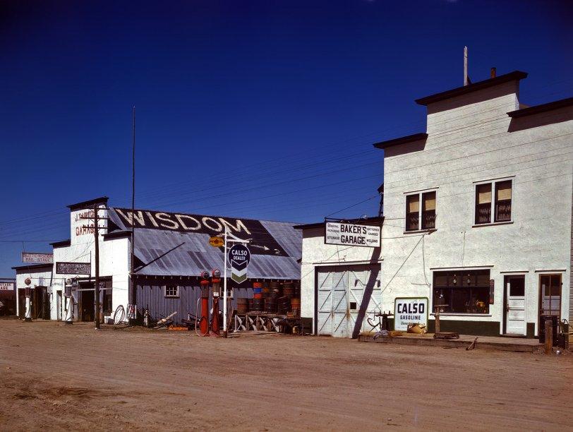 Wisdom, Montana: 1942