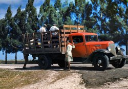 The Red Truck: 1940