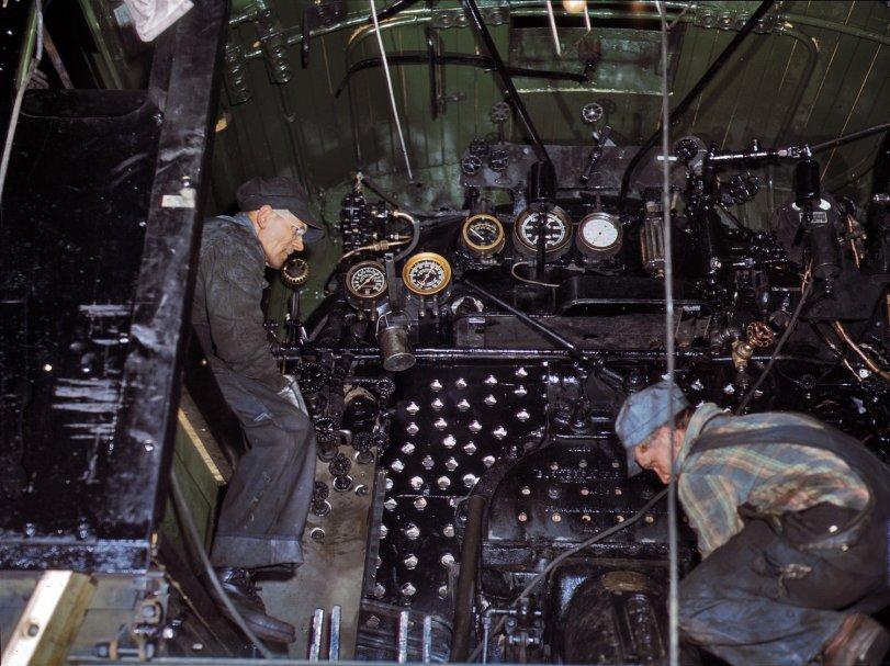 Locomotive Cab: 1942