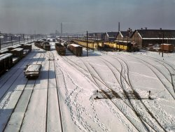 Tracks in the Snow: 1942