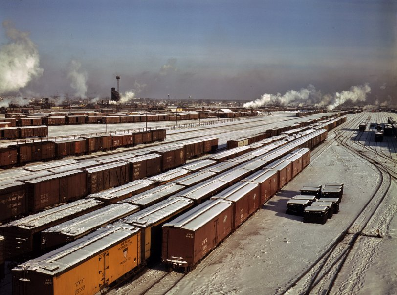 Proviso Yard, Chicago: 1942
