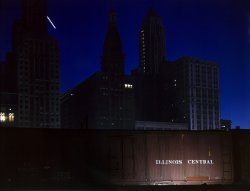 Chicago: Night: 1943
