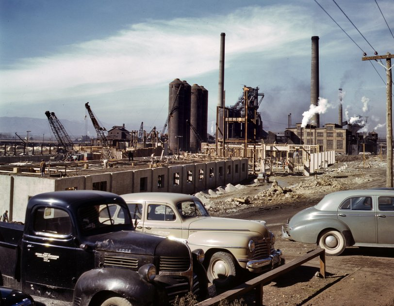 A Steel Plant Sprouts: 1942
