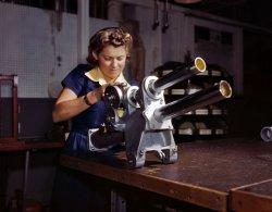 Doing Her Part: 1942