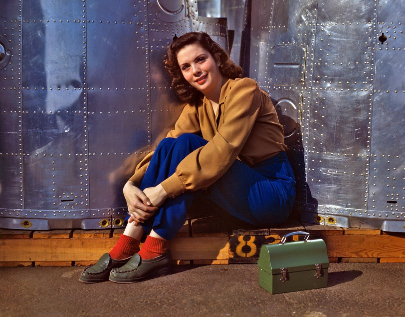 Rosie Takes a Break: 1942