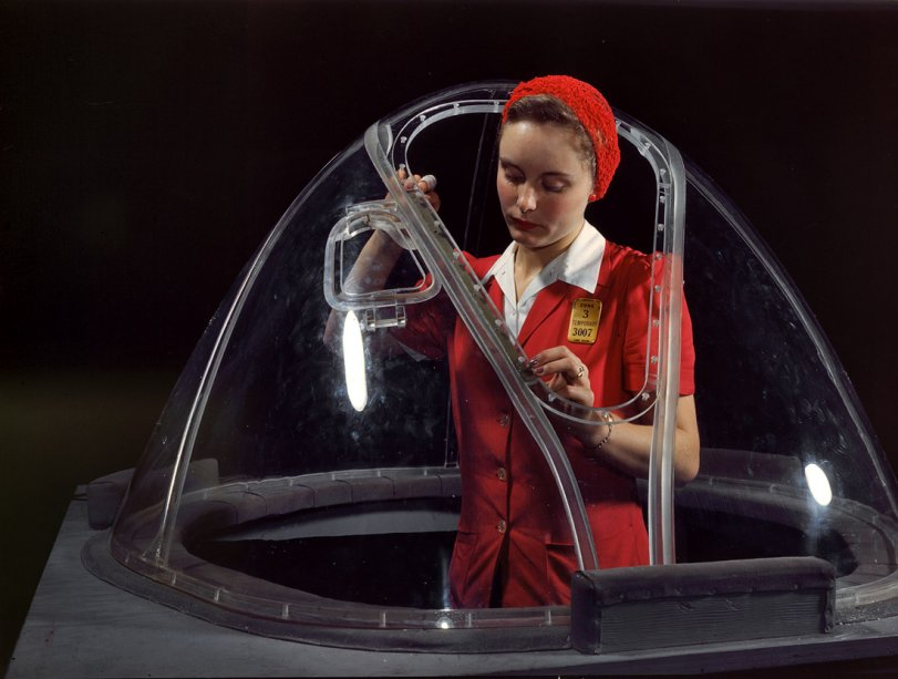 The Girl in the Bubble: 1942