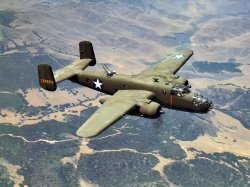 B-25 Over California: 1942